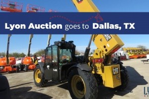 Lyon Auction goes to Dallas, TX