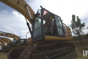 Operating heavy equipment