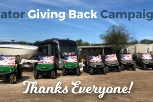 Gator Giving Back Campaign