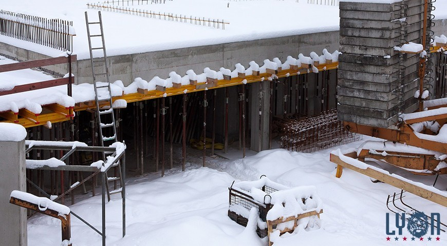 Precautions on the jobsite in winter