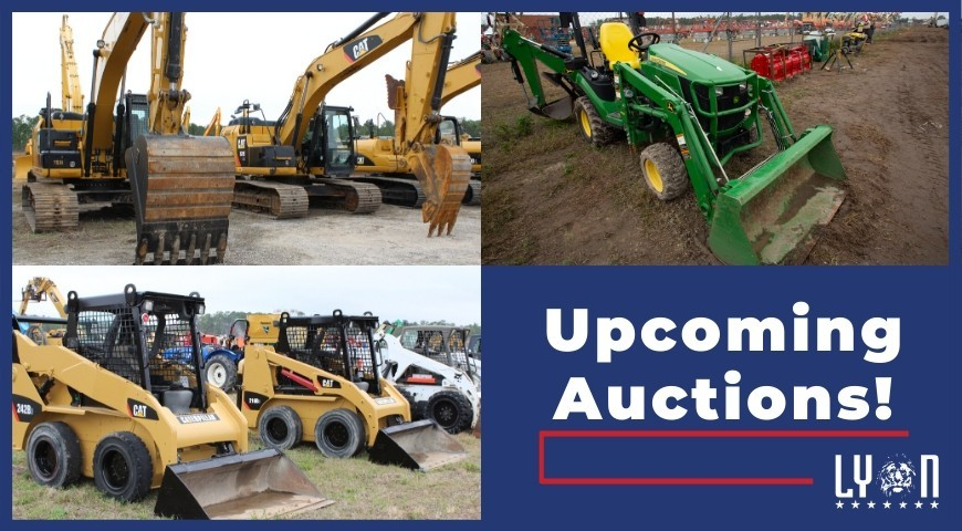 Upcoming 2020 Auctions