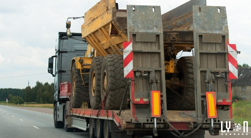 How to get heavy machinery auction home after an auction