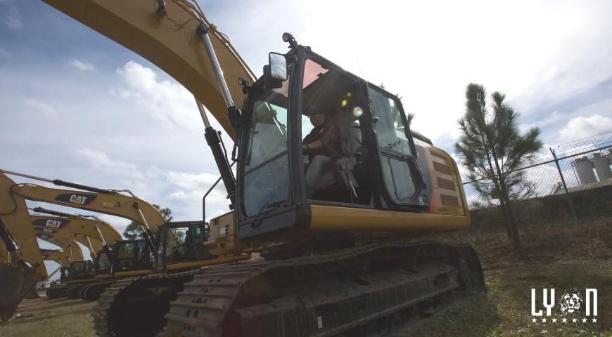 Operating heavy equipment
