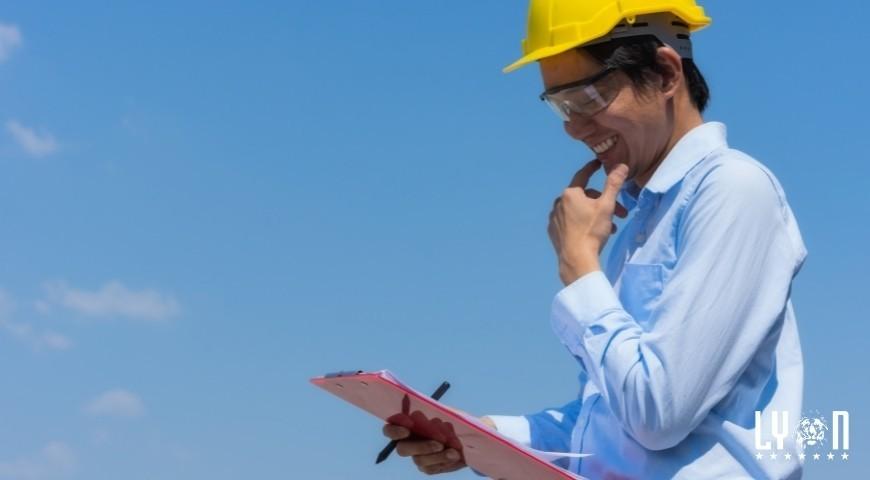 Inspection checklist for heavy equipment